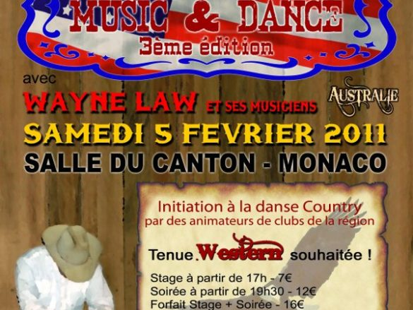 Monaco Country Music et Dance – 05/02/2012