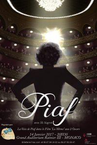 Jil Aigrot chante Piaf à Monaco