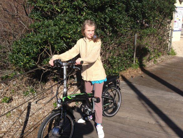 Novembre 2013: Le Bal organisé mi-novembre permet d'acheter un vélo électrique