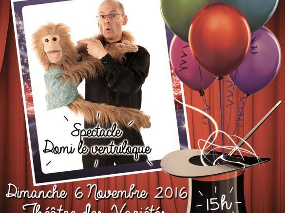Domi le Ventriloque 06/11/2016